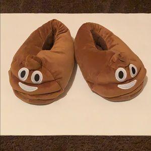 Shoes - (Women's) Emoji slippers size 8